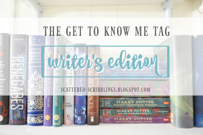 The Get To Know Me Tag Writer's Edtion [post title image]